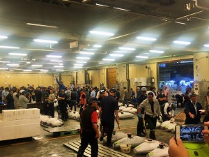 Taukiji tuna auction