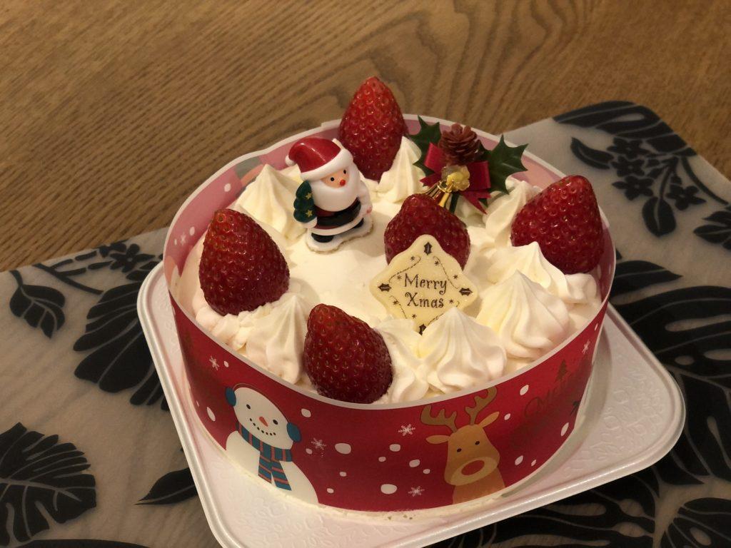 Christmas cake Soshi's Tokyo Bike Tour