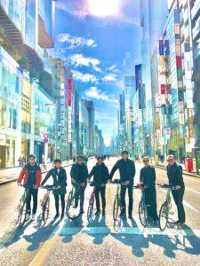 Ginza Tokyo Bike Tour