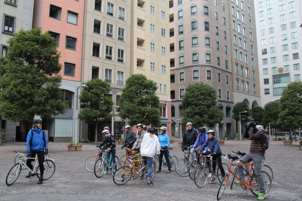 New Years Tokyo cycling tour