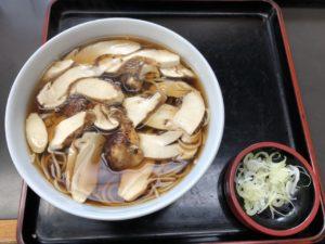 mushroom soba